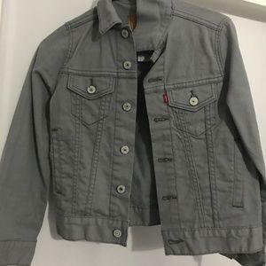 Levi's Grey Jean Jacket